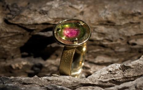 Ring, Gold rosa