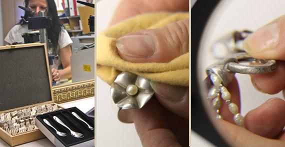 Umarbeiten und Reparaturen von Schmuckstücken